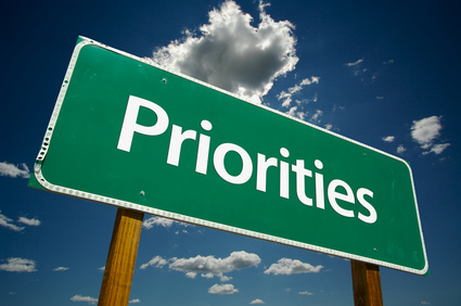 Priorities - Using executive function to prioritize