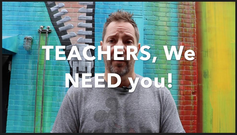 Teachers: Feeling alone? (Video)